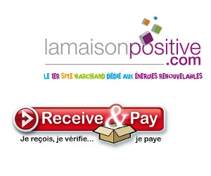 ReceiveAndPay disponible sur La Maison Positive
