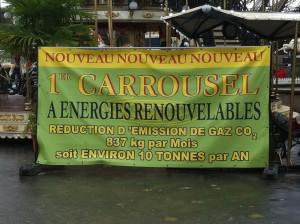 le premier manège à énergie green