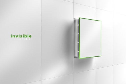 un ventilateur design pour votre salle de bain une